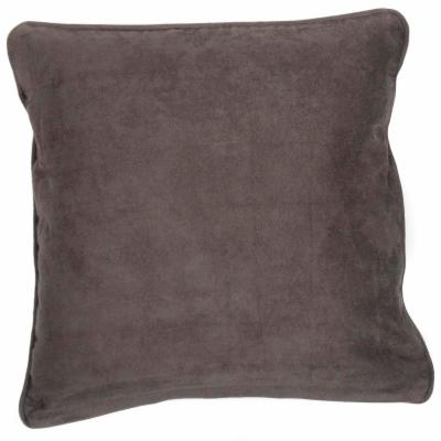 Premium Micro Suede Chestnut Pillow