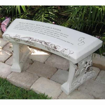 SouthWest Graphix Personalized Grandpa Garden Bench