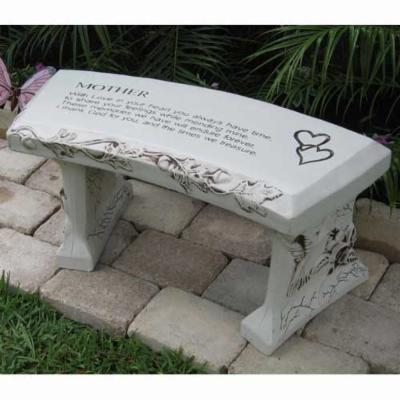 SouthWest Graphix Personalized Mother Garden Bench