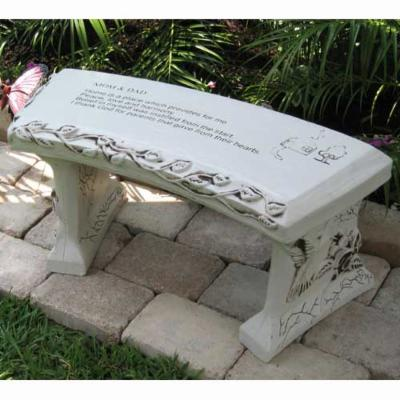 SouthWest Graphix Personalized Mom & Dad Garden Bench