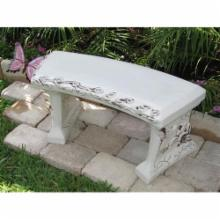 SouthWest Graphix Create-Your-Own Script Garden Bench