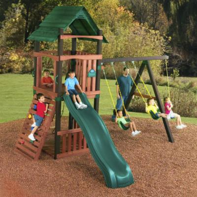  Swing N Slide Cimarron Wood Swing Set