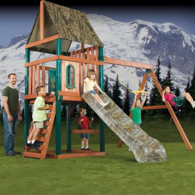  Swing N Slide Woodsman Wood Swing Set