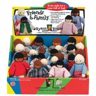 Small World Toys Ryan&#39;s Room Friends &amp; Family Caucasian