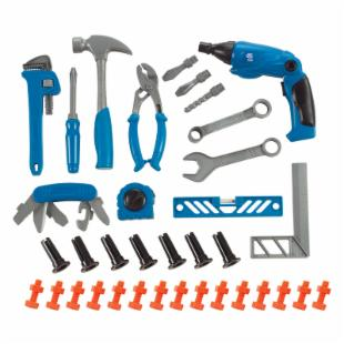 Small World Toys Little Handyman&#39;s Tool Set - 50 Piece