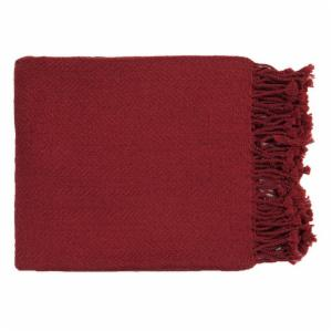 Surya Turner Red Throw - 50 x 60 in.