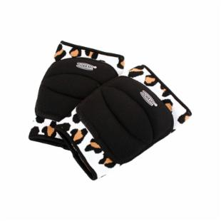 Tachikara Leopard Knee Pads