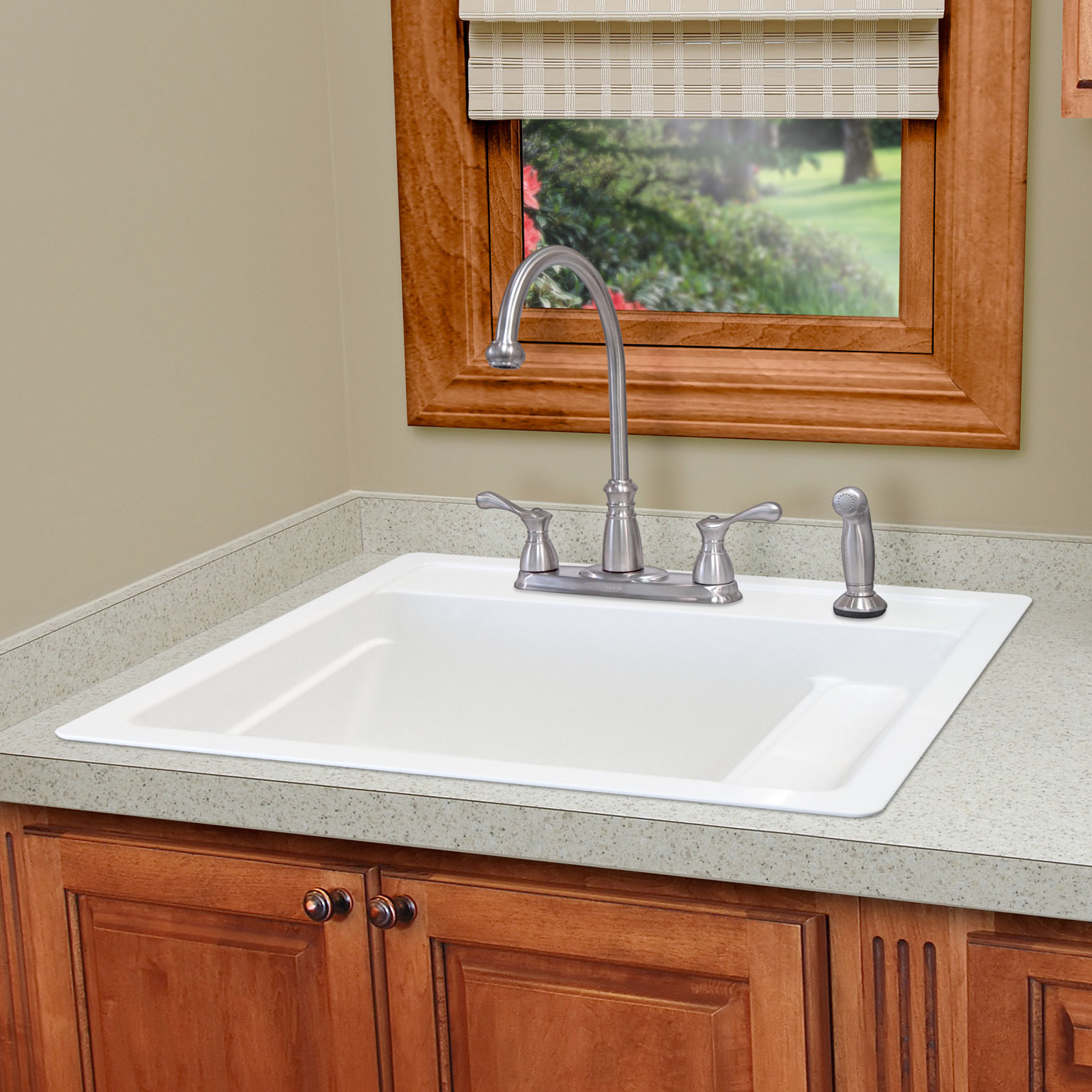 ... 25 Single Basin Drop In Utility Sink - Utility Sinks at Hayneedle