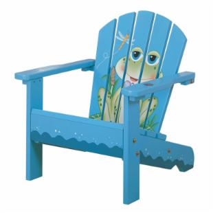 Teamson Kids Frog Adirondack Chair