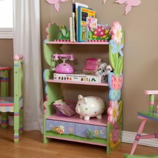 Teamson Kids Magic Garden Bookcase