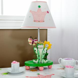 Teamson Kids Princess &amp; Frog Crown Lamp