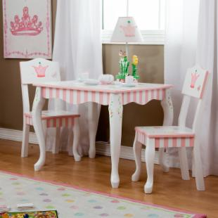 Teamson Kids Princess &amp; Frog Table and Chair Set