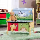  Teamson Kids Sunny Safari Storage Bench