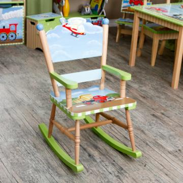 Teamson Kids Transportation Rocking Chair