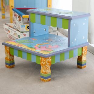 Teamson Kids Under the Sea Step Stool