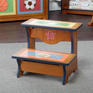 Teamson Kids Little Sports Fan Step Stool