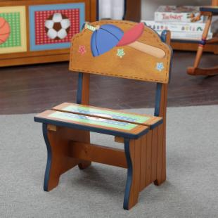 Teamson Kids Little Sports Fan Time Out Chair