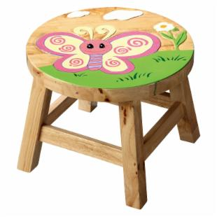 Teamson Kids Stool - Butterfly