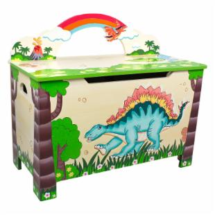 Teamson Kids Dinosaur Kingdom Toy Box