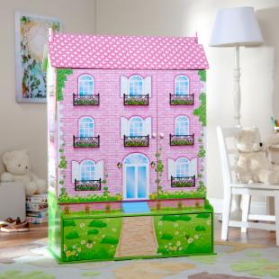 Sweet Retreat Dollhouse Mansion with Storage