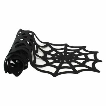 Tag 58 in. Spider Web Felt Table Runner