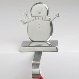 Tag Snowman Stocking Holder