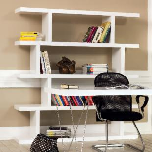 Tema Step High Bookcase