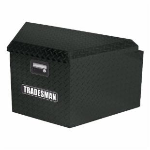 Tradesman Aluminum Trailer Tongue Box - Black