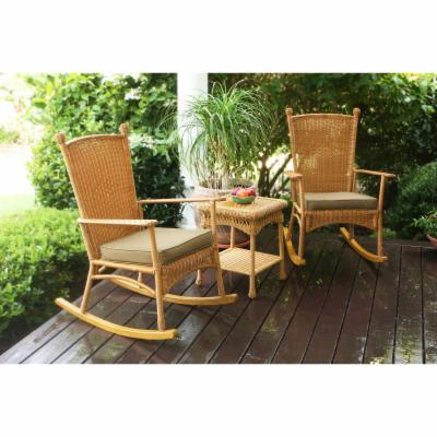 Tortuga Outdoor Portside Classic Rocker Set