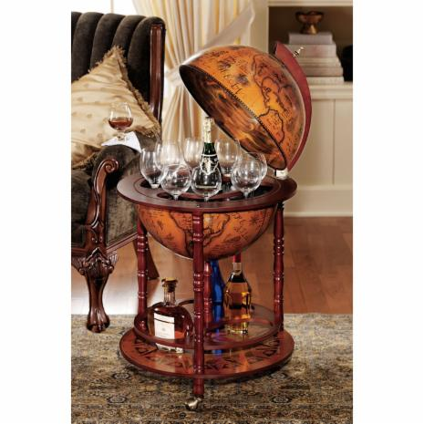 Globes for sale on hayneedle shop decorative world for Bar decor amazon