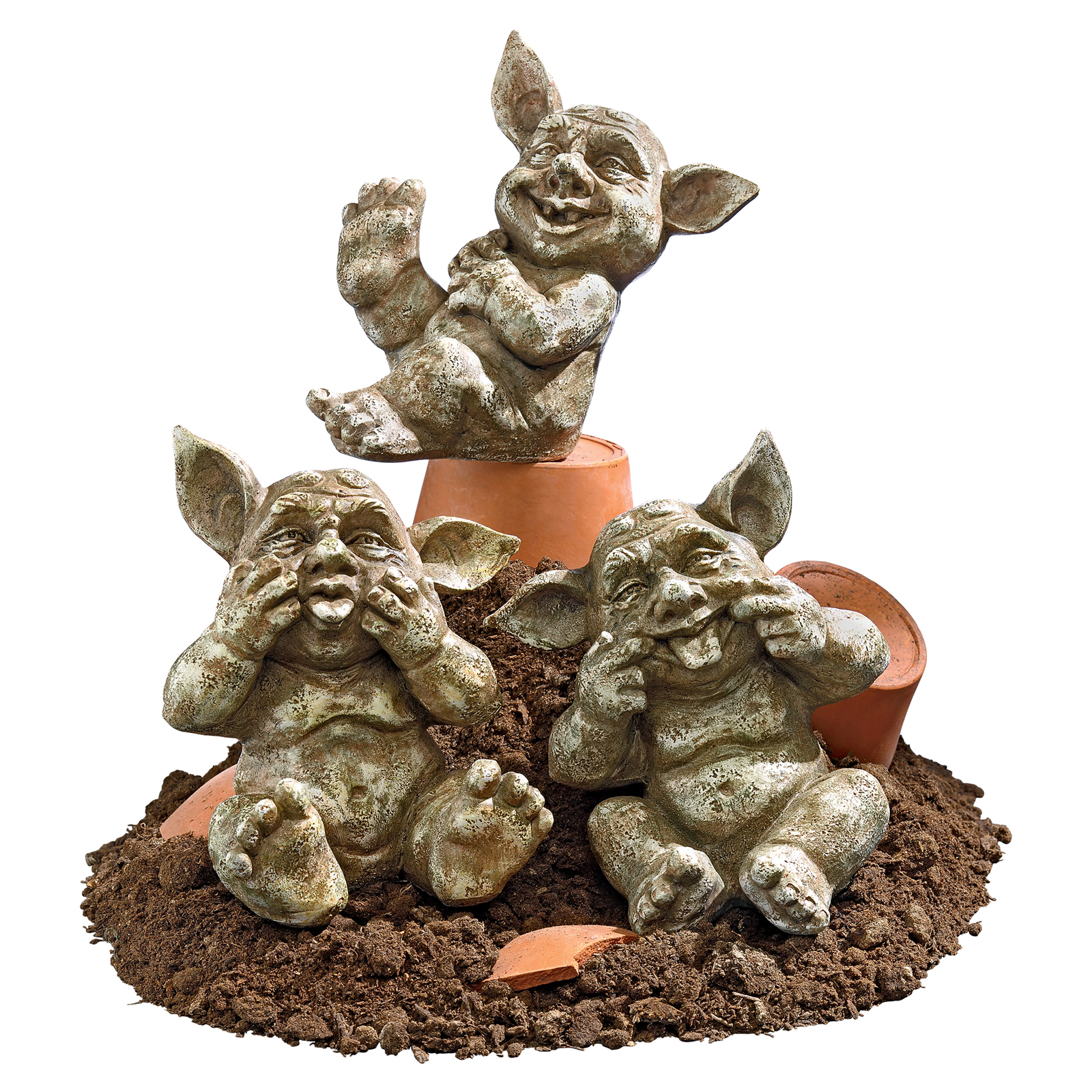 Design toscano holy terrors gremlin gargoyle statues for Gargoyle decor