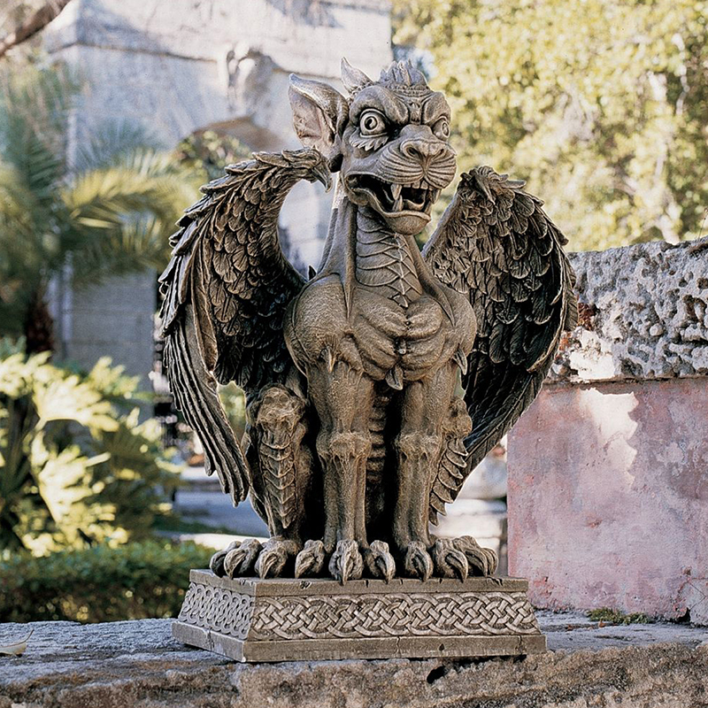 Design toscano boden gargoyle sentinel sculpture garden for Gargoyle decor