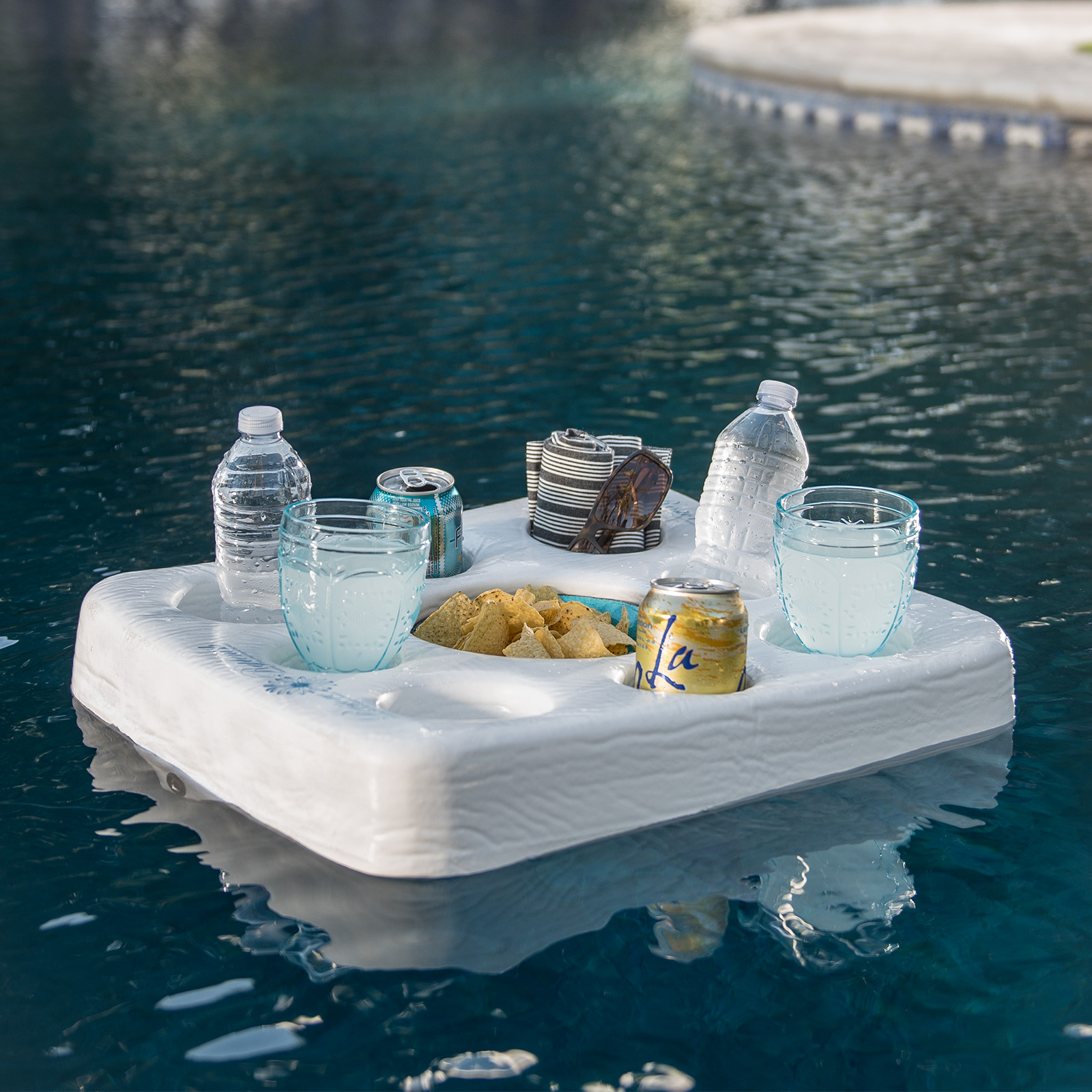 Trc Recreation Super Soft Ultra Kool Floating Tray Amp Game