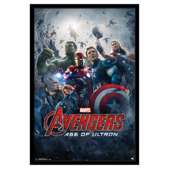 One sheet movie poster frame