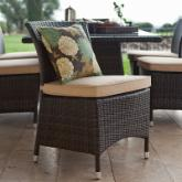  Dublin All-Weather Wicker Dining Chairs - Set of 2