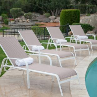 Oceanside Chaise Lounges - Set of 4