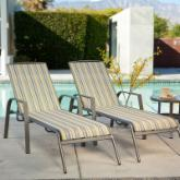  Essex Poolside Chaise Lounge - Set of 2