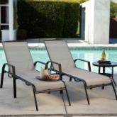  Metropolitan Poolside Chaise Lounge - Set of 2