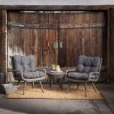 Rio Wicker Conversation Set