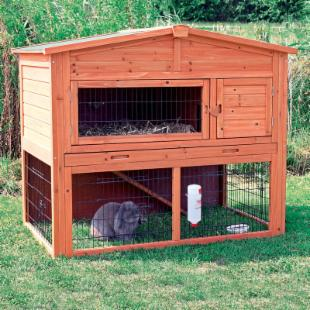 Trixie Natura Rabbit Hutch with Enclosure