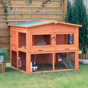 Trixie Natura XL 2 Story Rabbit Hutch