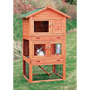 Trixie Natura 3 Story Rabbit Hutch