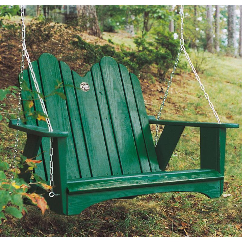 Uwharrie Original Collection 4-ft. Porch Swing, Numerous Finish and Color Choices FREE Shipping!