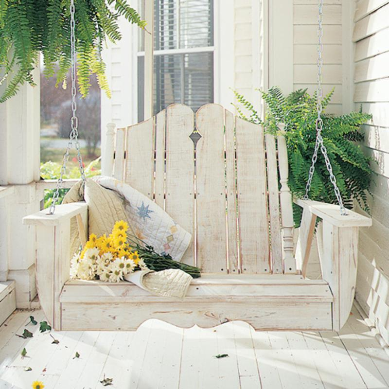 Uwharrie Nantucket Porch Swing, Numerous Finish and Color Choices FREE Shipping!