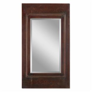 Camerata Embossed Wall Mirror - 24W x 42.25H in.