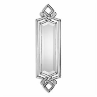 Ginosa Modern Venetian Decorative Accent Mirror - 10W x 36H in.