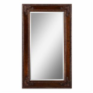 Edeva Heavily Distressed Multi-Finish Wall / Leaning Floor Mirror - 43W x 73H in.