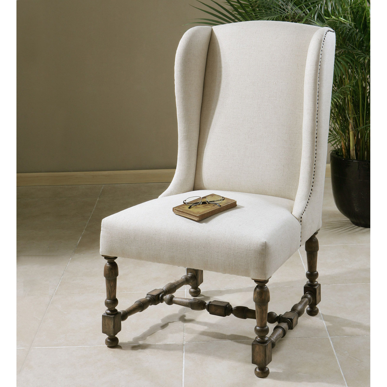 Uttermost Diella Alabaster Wingback Dining And Accent