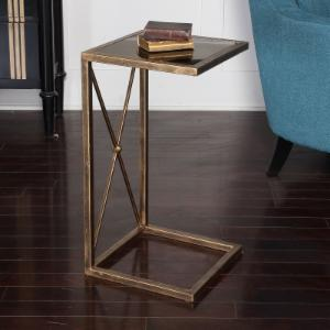 Uttermost Zafina Iron Side Table