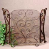 Uttermost 3 Panel Daymeion Fireplace Screen